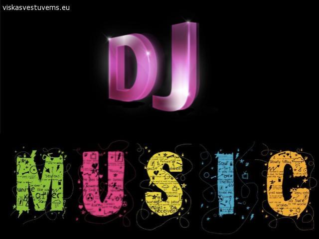 DJ, pop, jazz muzika gyvai, įgarsinimas