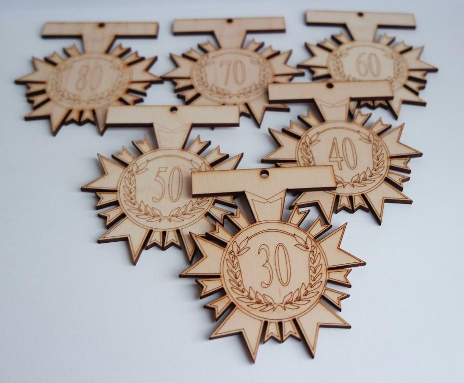 Medaliai pagal užsakymą