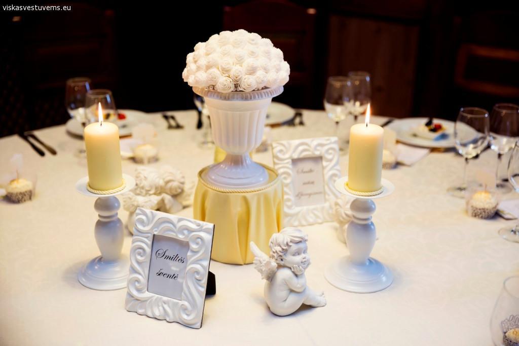 Vestuvių šventės dekoravimas